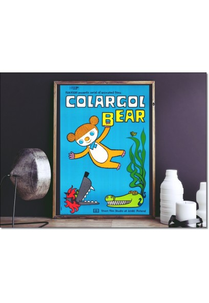 Plakat: Colargol Bear 1976/2015