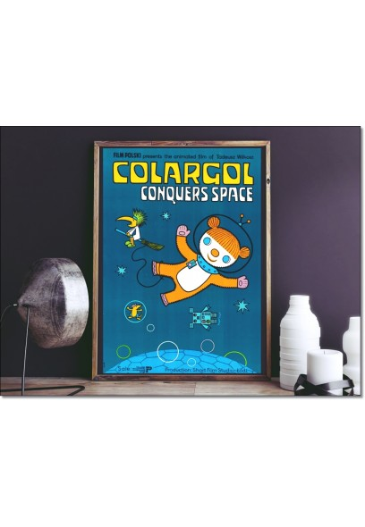 Plakat: Colargol Conquers Space 1978/2015